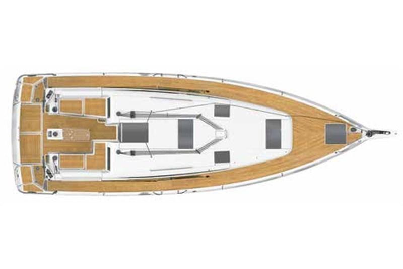 Аренда яхты Sun Odyssey 440 (4cab)  /2019