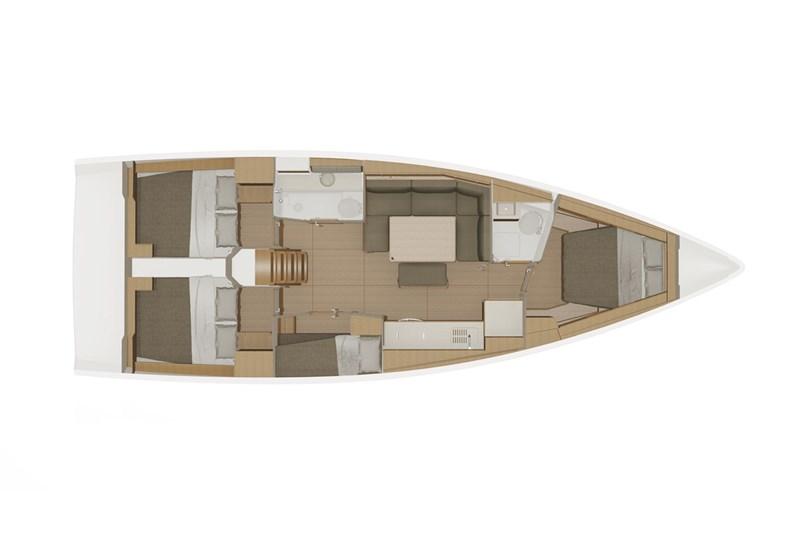 Аренда яхты Dufour 430 Grand Large (4cab)  /2019
