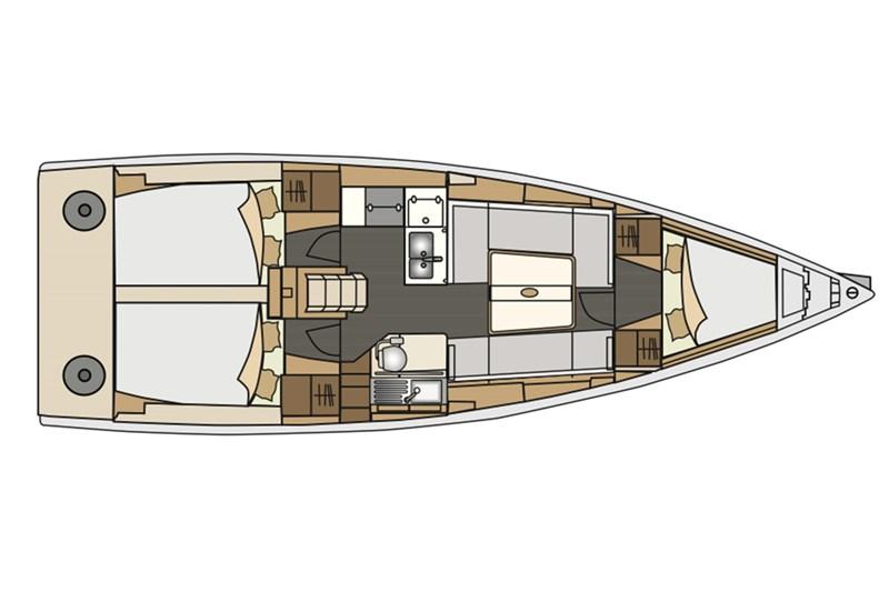 Аренда яхты Elan 350  /2012