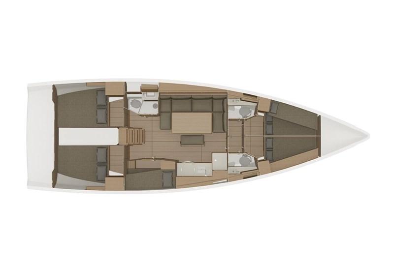 Аренда яхты Dufour 460 Grand Large (5cab)  /2019