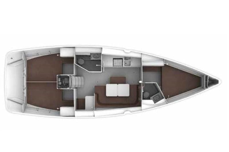 Аренда яхты Bavaria Cruiser 41 (3Cab)  /2019