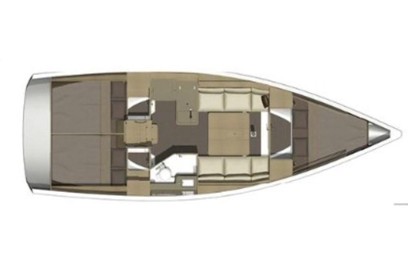 Аренда яхты Dufour 350 Grand Large (3Cab)  /2017
