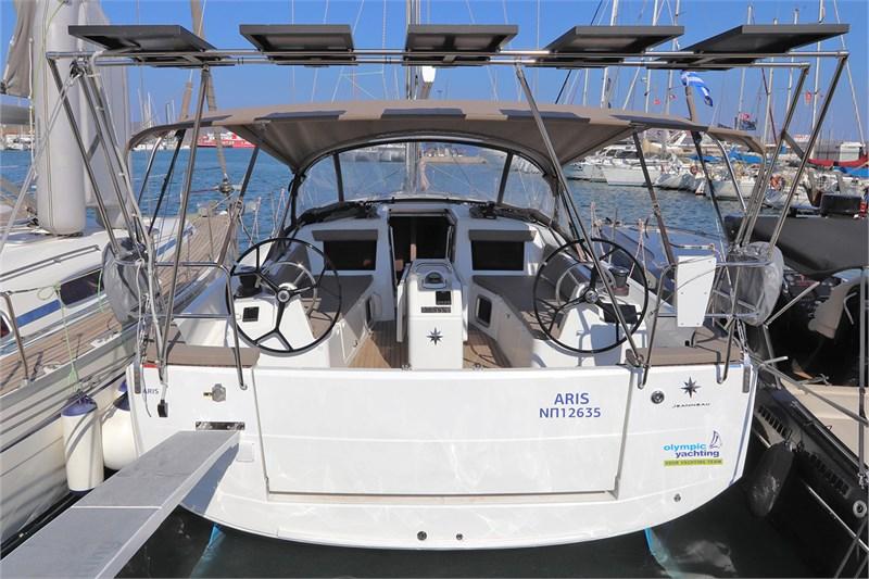 Аренда яхты Sun Odyssey 410 (3Cab)  /2020