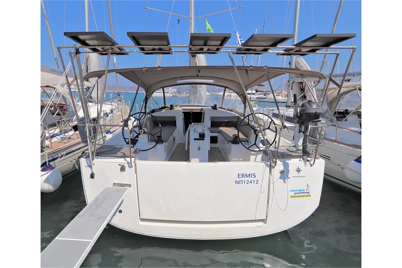 Аренда яхты Sun Odyssey 440 (4cab)  /2020
