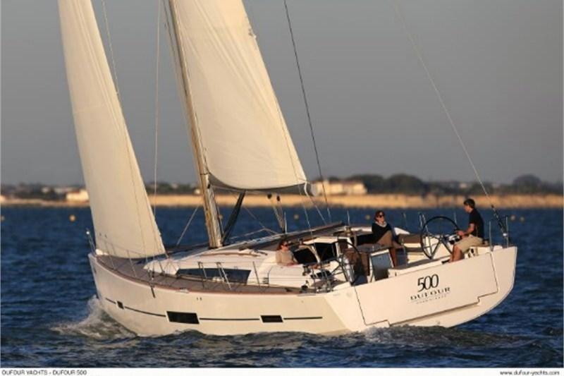 Аренда яхты Dufour 500 Grand Large (5Cab)  /2014