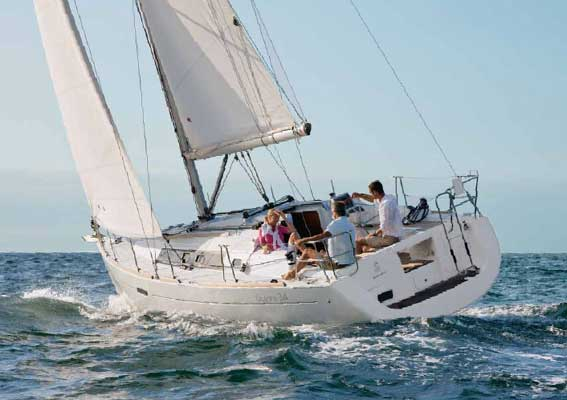 Аренда яхты Oceanis 34 (3Cab)  /2010