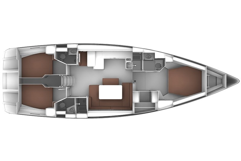 Аренда яхты Bavaria Cruiser 51 (3Cab)  /2017