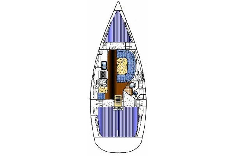 Аренда яхты Oceanis 351 (3Cab)  /2018