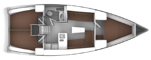 Аренда яхты Bavaria Cruiser 37 (3Cab)  /2020