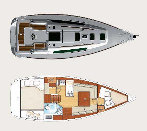 Аренда яхты Oceanis 31 (2Cab)  /2012