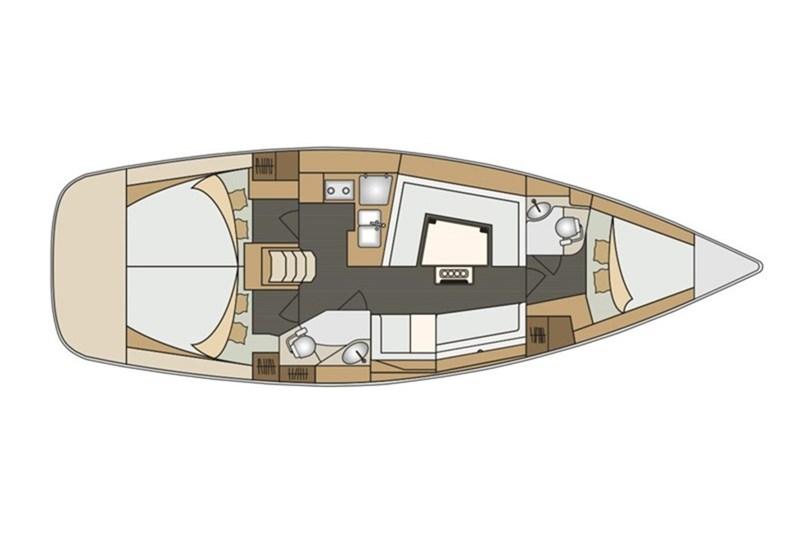 Аренда яхты Elan Impression 40.1 (3cab)  /2020
