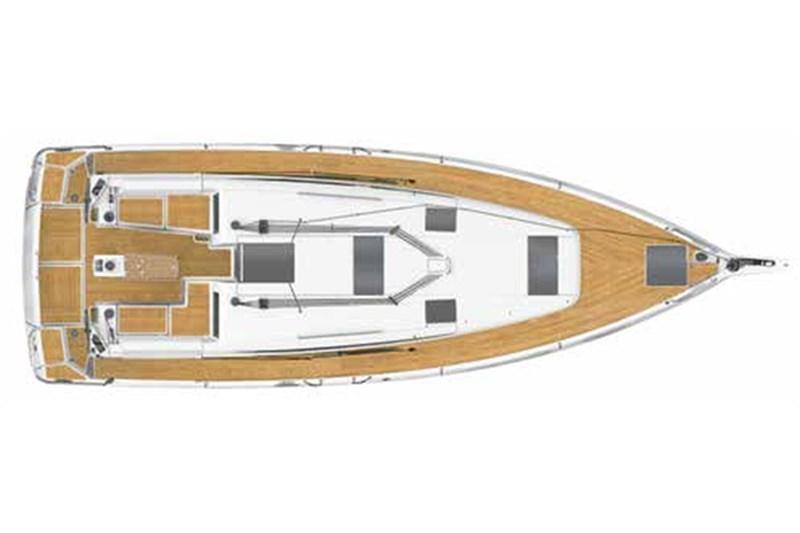 Аренда яхты Sun Odyssey 440 (3cab)  /2020