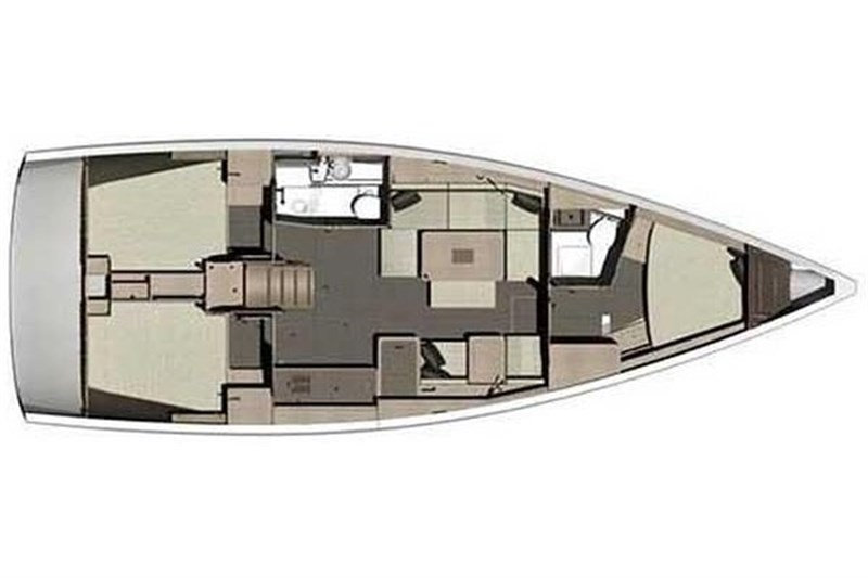 Аренда яхты Dufour 412 Grand Large (3Cab)  /2020