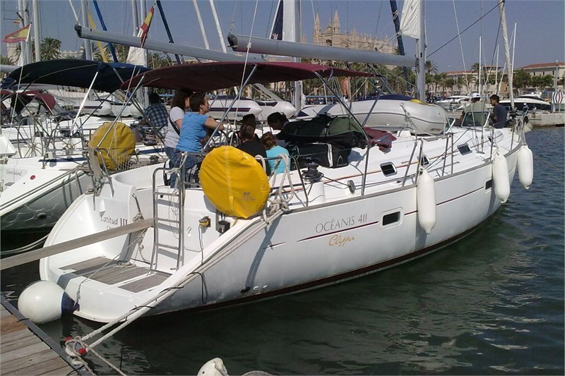 Аренда яхты Oceanis 411 (4Cab)  /2000