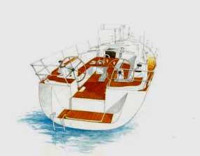 Аренда яхты Dufour 455 (4Cab)  /2009