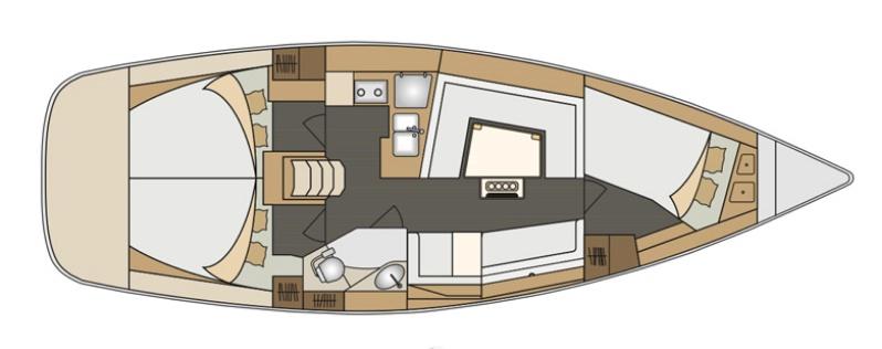 Аренда яхты Elan Impression 40 (3Cab)  /2020