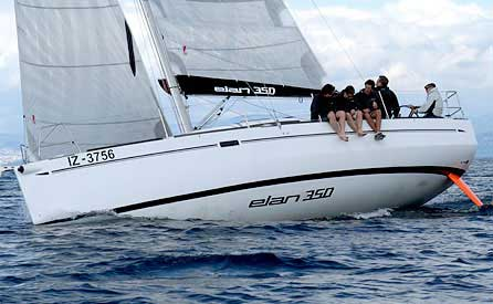 Аренда яхты Elan 350  /2011
