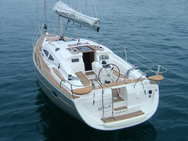 Yacht Charter Elan Impression 384 ...
