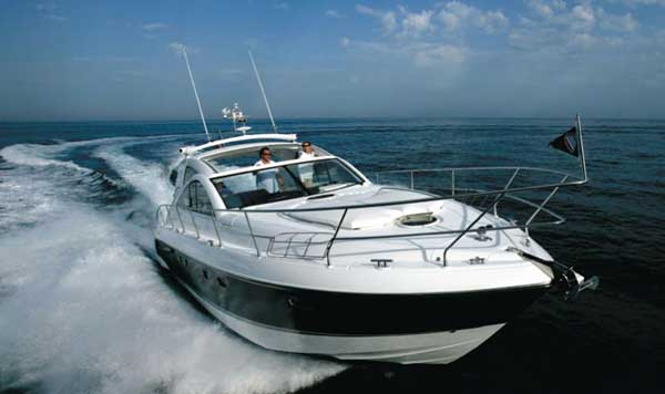 View of Fairline Targa 47 GT. Possible variations in details