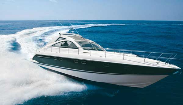 View of Fairline Targa 52 GT. Possible variations in details