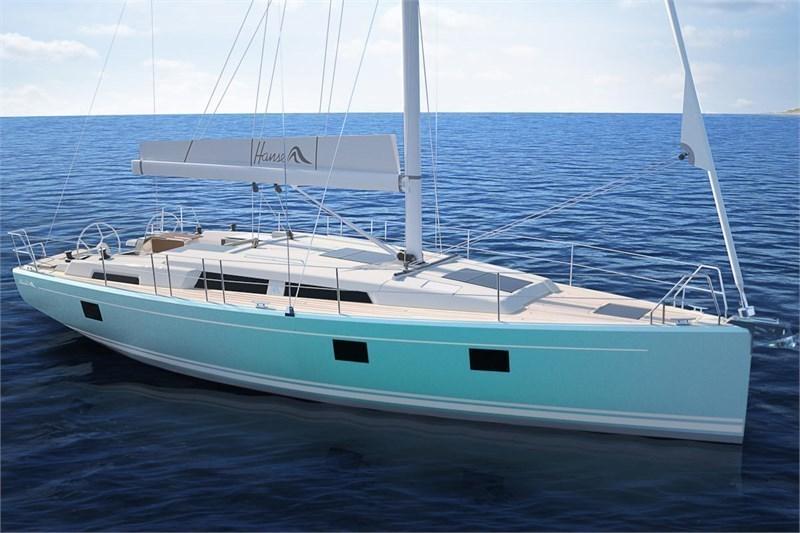 Аренда яхты Hanse 418 (3cab)  /2019