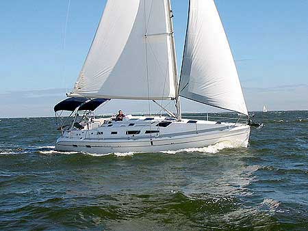 Yacht Charter Hunter 41