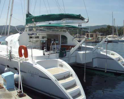 Yacht Charter Lagoon 470 ...