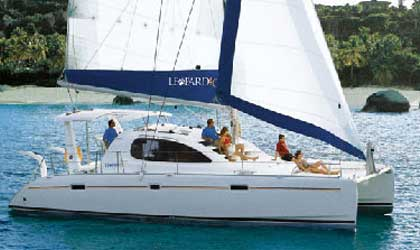 Аренда яхты Leopard 40 (4Cab)  /2009