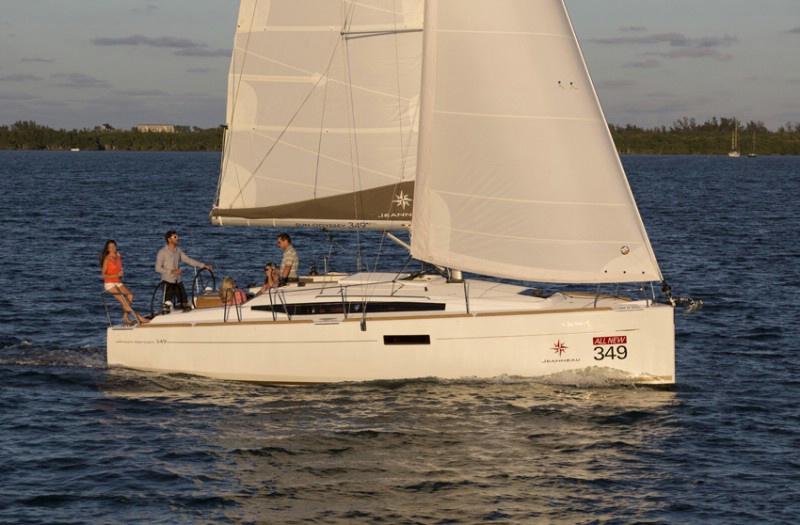 Аренда яхты Sun Odyssey 349 (3Cab)  /2016