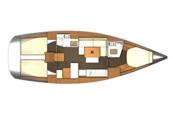 Dufour 405 Grand Large (3Cab)