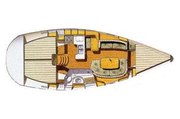 Oceanis 361 (3Cab)