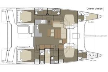 Dufour 48 Catamaran (5cab)