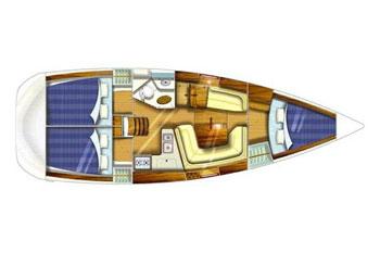 Sun Odyssey 35 (3Cab)