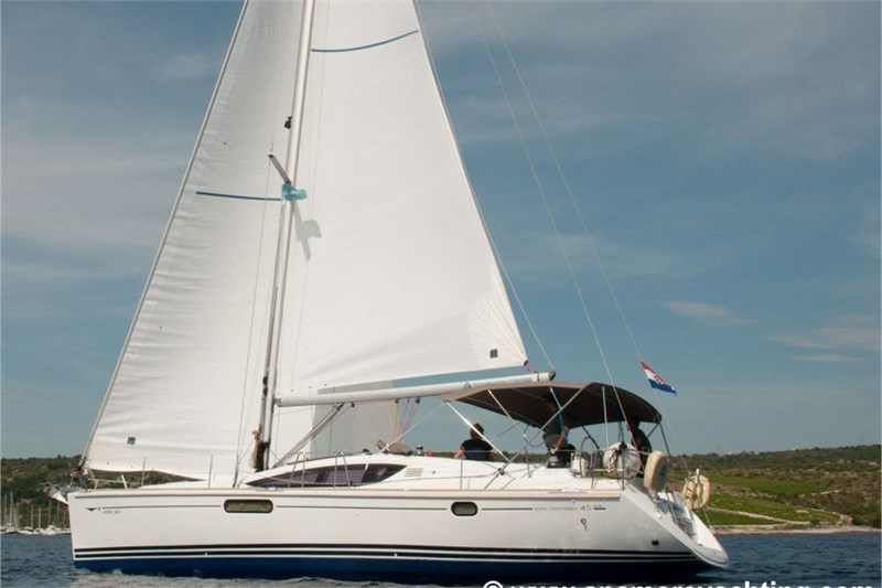 Yacht Charter Sun Odyssey 45 DS \'Southern Cross\' from Primosten ...