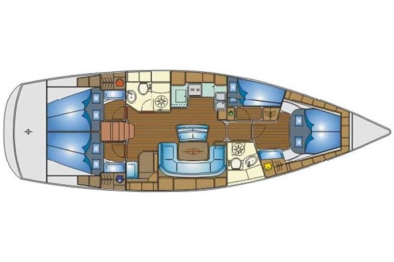 Yacht Charter Bavaria 46 Cruiser 'Eros' from Corfu