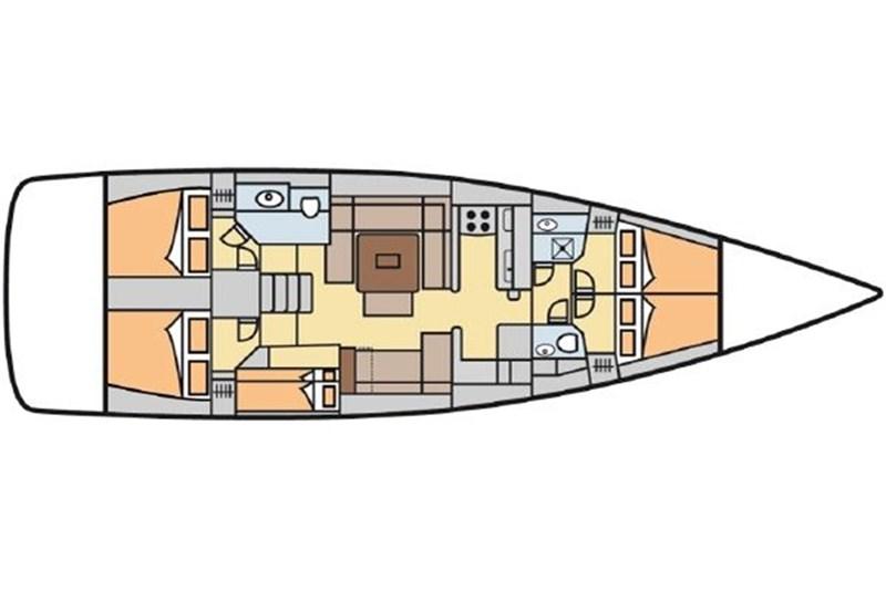 Dufour 512 Grand Large (5Cab)