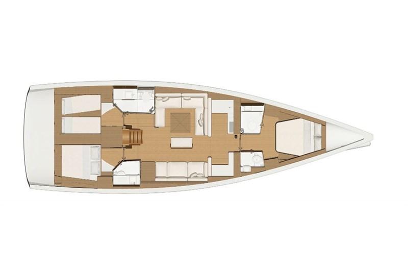 Dufour 520 Grande Large (3Cab)