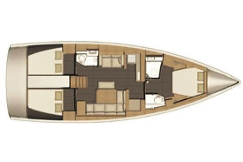 Dufour 460 Grand Large (3Cab)