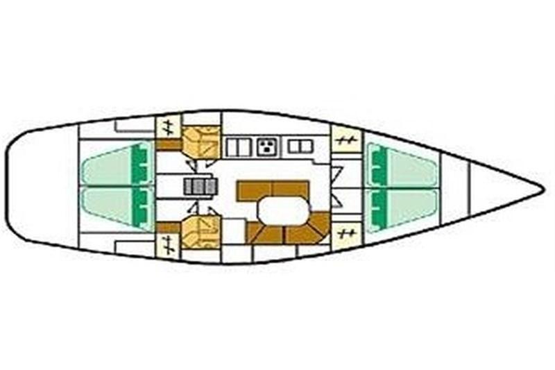 Oceanis 461 (4Cab)