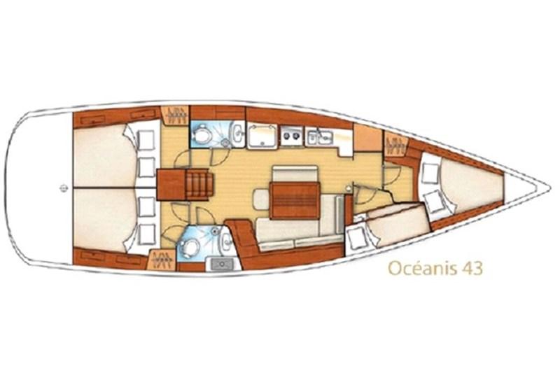 Oceanis 43 (4Cab)