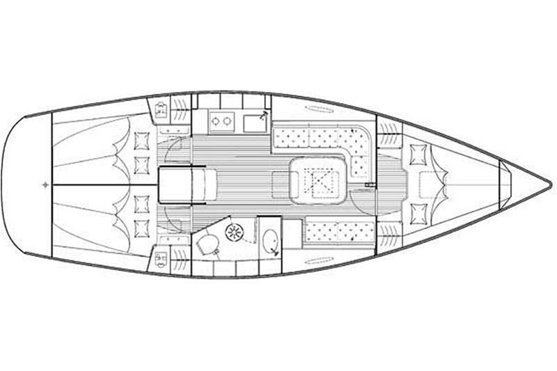 Bavaria 35 Cruiser (3Cab)