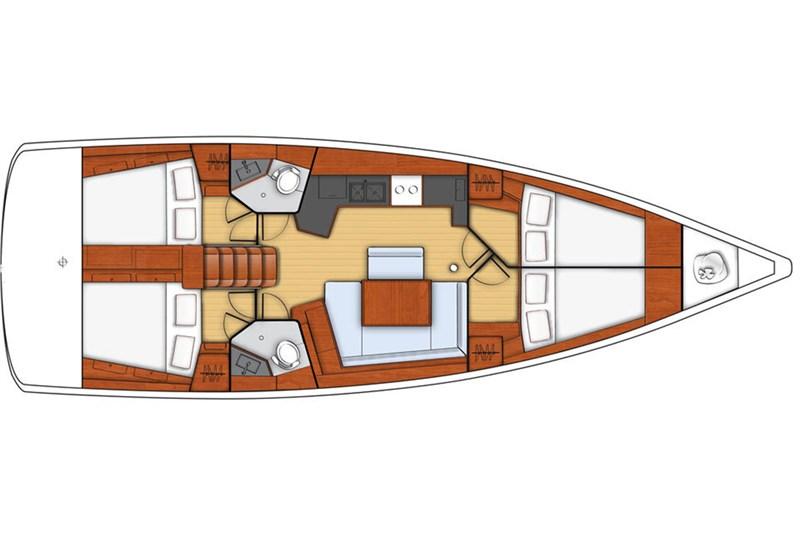 Oceanis 45 (4Cab)