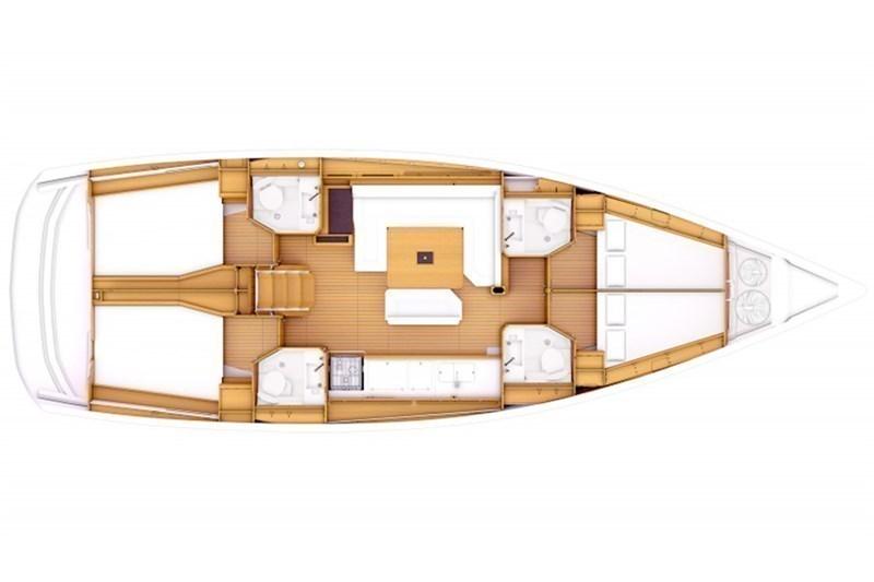 Sun Odyssey 469 (4Cab)