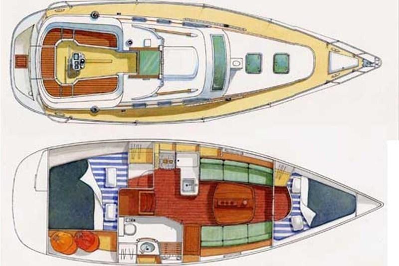 Oceanis 323 (2Cab)