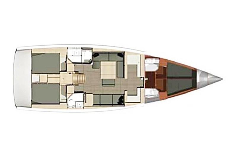 Dufour 500 Grand Large (4Cab)