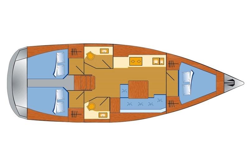 Dufour 382 Grand Large (3Cab)
