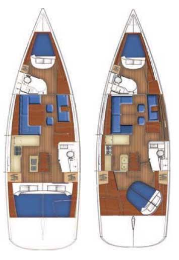 Oceanis 46 (3Cab)